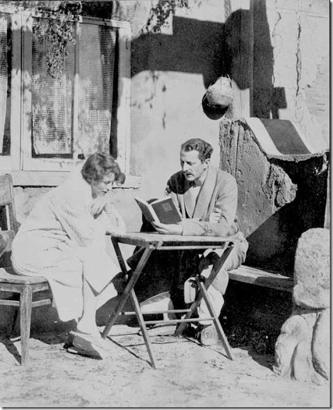 Arthur Davidson Ficke and Edna St Vincent Millay
