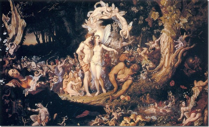 Sir Joseph Noel Paton - The Reconciliation of Oberon and Titania