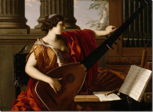 Allegory of Music by Laurent de La Hyre