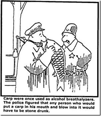 Carp Breathalyzers!