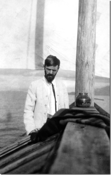 D H Lawrence in Mexico 1923