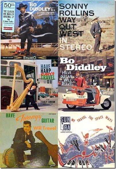 Will Travel LP collage
