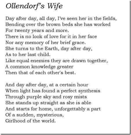 Ollendorfs Wife revised