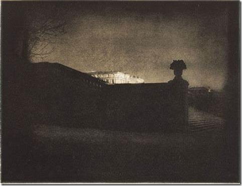Edward Steichen Nocturne-Orangery Staircase