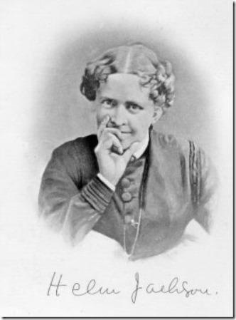 Helen Hunt Jackson defiant