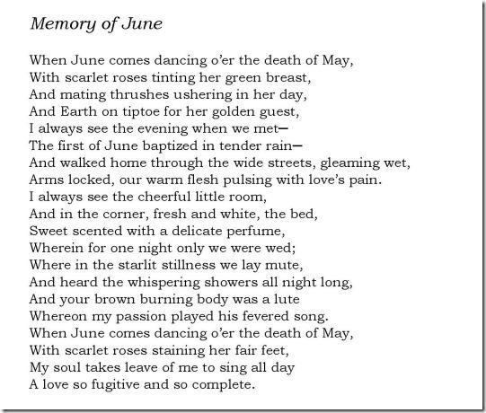 Memory of June