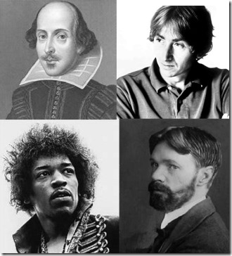 Shakespeare-Hollils-Hendrix-Lawrence quadrent