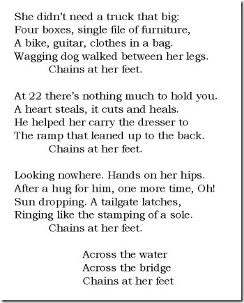 Chains At Her Feet lyrics