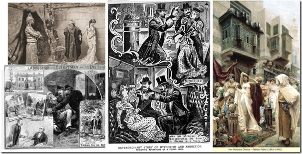 Victorian abduction and harem images