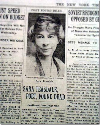 NY Times Teasdale Death Story