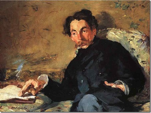 portrait_mallarme_by Manet