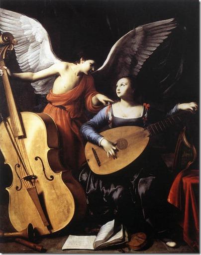 St Cecilia by Carlo Saraceni