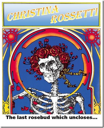 Chistina Rossetti Skull and Roses