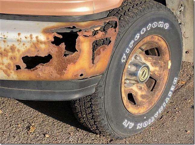 Rust Lacework Truck