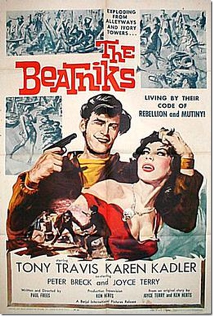 The Beatniks moive poster