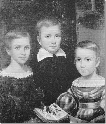 Emily Dickinson family portrait