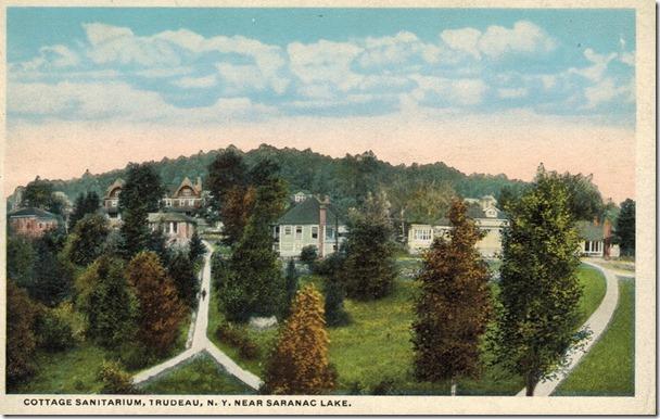 Saranac Lake Cottage Sanitarium circa 1918