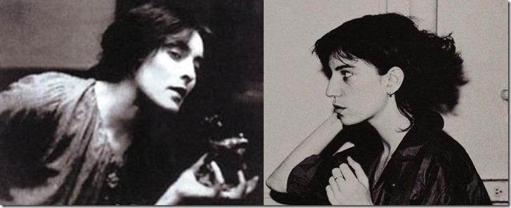Mina Loy and Patti Smith