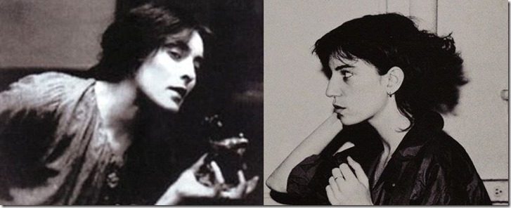 Mina Loy and Patti Smith