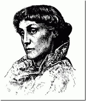 Edith M Thomas engraving