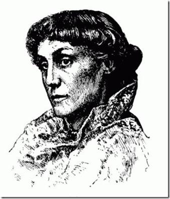 Edith M Thomas engraving
