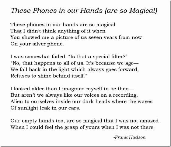 These Phone in our Hands