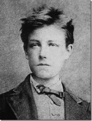 Arthur Rimbaud - the most famous photo