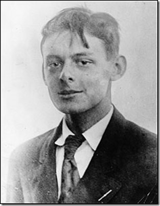 Teenaged T S Eliot