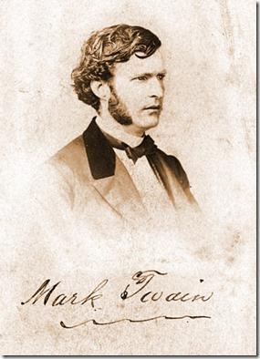 Mark Twain 1863