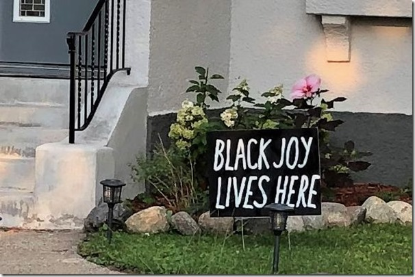 Black Joy Lives Here crop