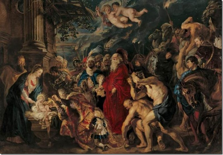 the-adoration-of-the-magi by Rubens 1