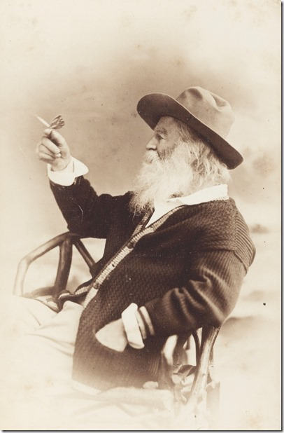 Whitman with Butterfly