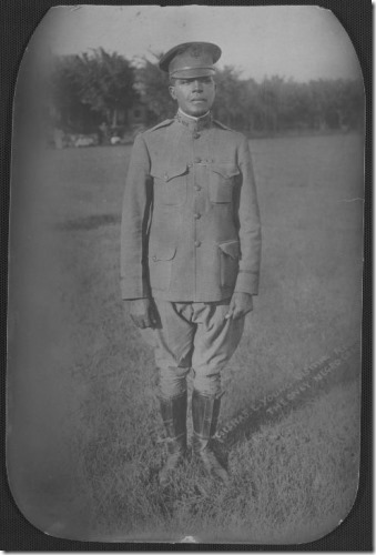 Charles Young at Fort Des Moines