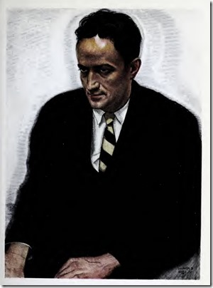 Jean Toomer by Winold Reiss from The New Negro