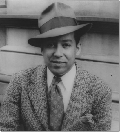 Young Langston Hughes
