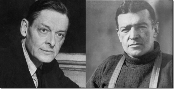 Eliot and Shackleton