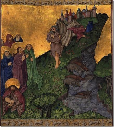 Ottheinrich Folio casting demons into swine