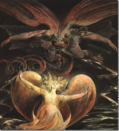 Blake The Great Red Dragon and the Woman Clothed in the Sun