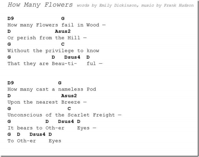 How Many Flowers