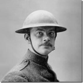 Joyce Kilmer in uniform