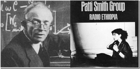 W O Schumann and Patti Smith