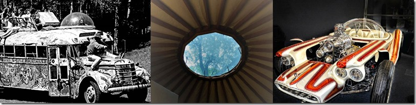 Three Plexiglass Domes